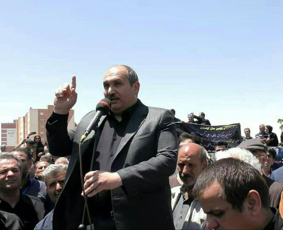 حکم جنایتکارانهء 15 سال زندان برای عباس لسانی را محکوم میکنیم