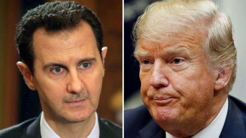 واکنش سوریه به تصمیم ترامپ برای ترور بشار اسد: دولت آمریکا 'قانونشکن' است