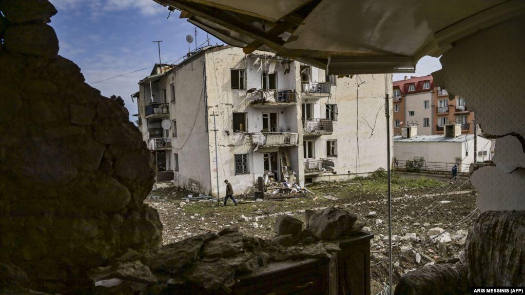 """ادامه درگیریهای نظامی ارمنستان و آذربایجان در منطقه """"داغ لیق قرهباغ """"( قرهباغ کوهستانی ) بعد از آتشبس"""