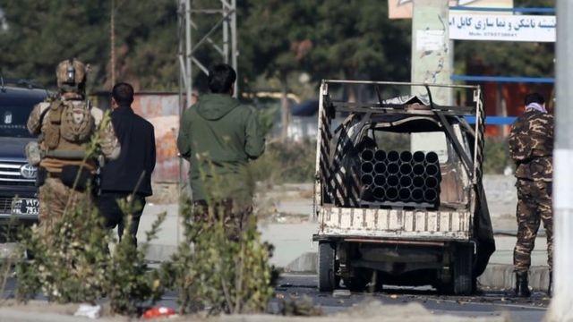 تلفات پرتاب ۲۳ موشک به کابل به هشت نفر رسید؛ یک موشک در سفارت ایران فرود آمد