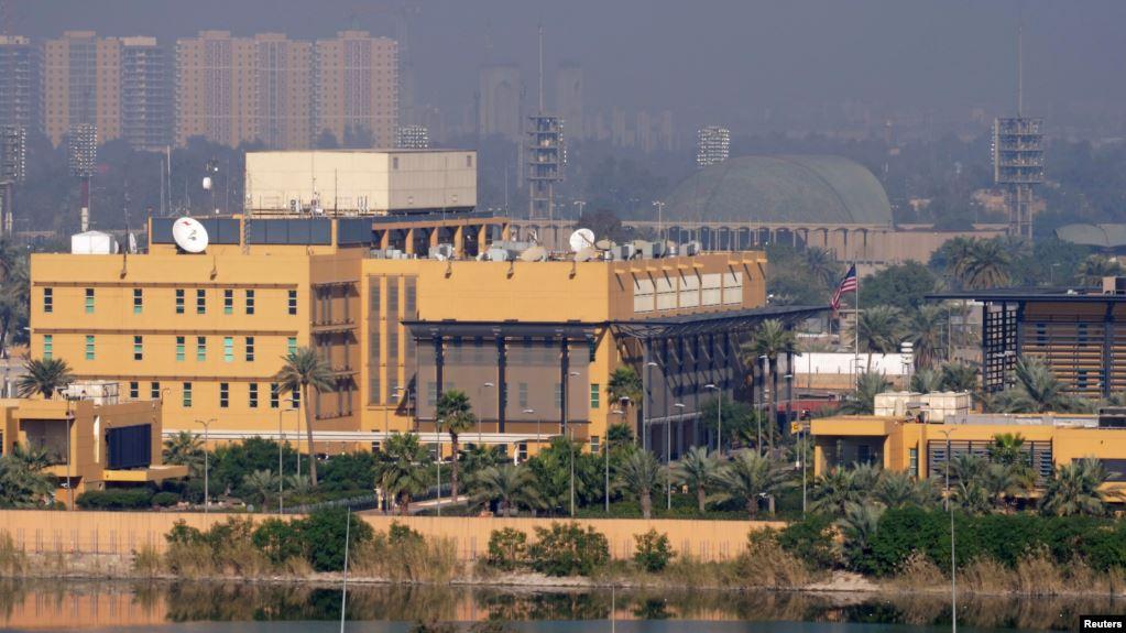 سفارت آمریکا در منطقه سبز بغداد هدف حمله با کاتیوشا قرار گرفت