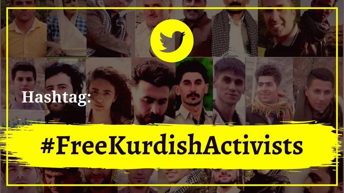 هشتگ بازداشت گسترده فعالان کورد ترند اول ایران شد