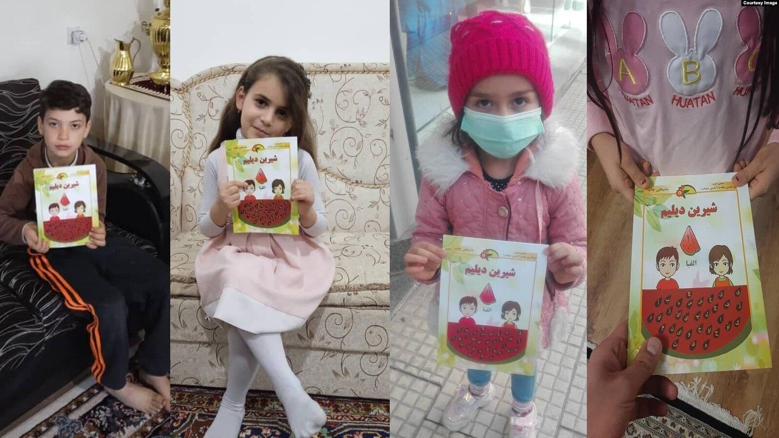 در آستانه روز جهانی زبان مادری ، کتابهای ترکی در ارومیه و تبریز توزیع شد