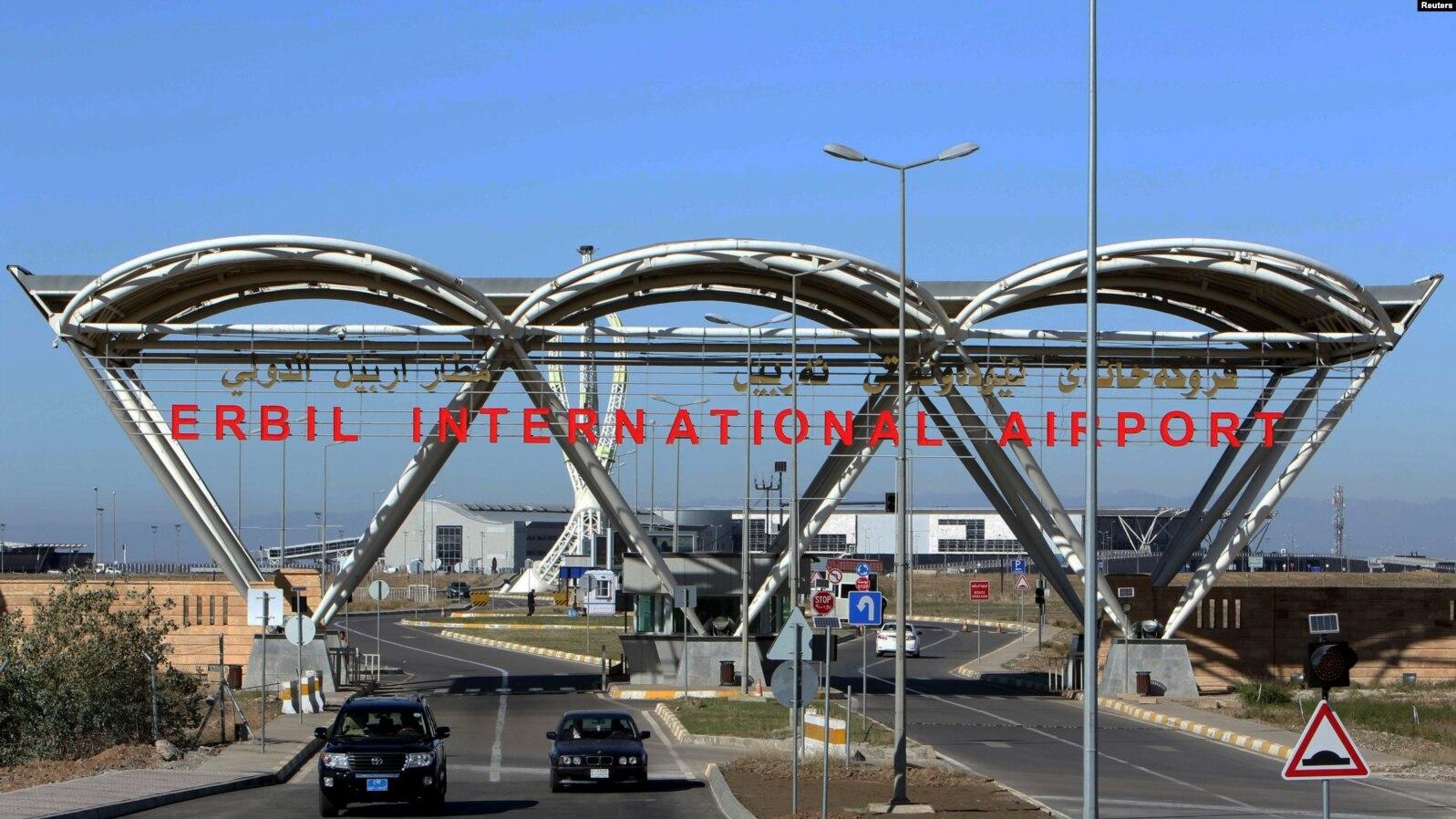 حملات راکتی به اطراف فرودگاه اربیل و پایگاه نیروهای آمریکایی