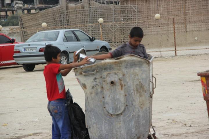 افزایش زباله گردی زیر سایه شوم فقر
